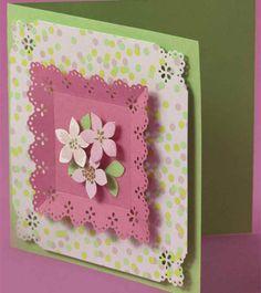 Petals & Lace Card