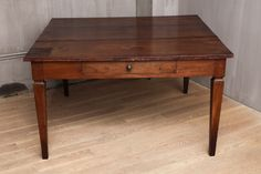 18th c. Italian Walnut Dining Table with Drawers