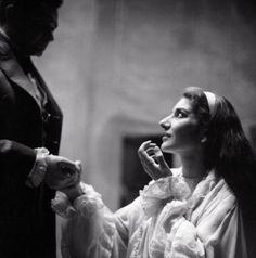 Maria Callas as Violetta in La Traviata by Giuseppe Verdi, Lisboa, 1958