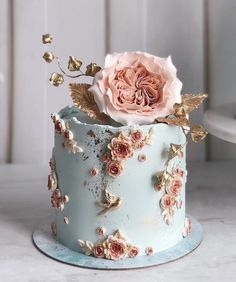 Elegant Birthday Cakes, Pretty Wedding Cakes, Beautiful Birthday Cakes, Gorgeous Cakes, Pretty Cakes, Amazing Cakes, Elegant Cakes, Crazy Wedding Cakes, Cake Pops For Wedding