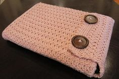 crochet case for laptops, ipad, cell phone...the possibilities are endless. Now, I just need to learn how to crochet.