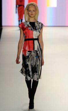 Carolina Herrera fall fashion week