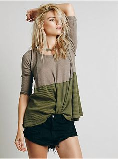 Free People We The Free Half and Half Thermal, $68.00