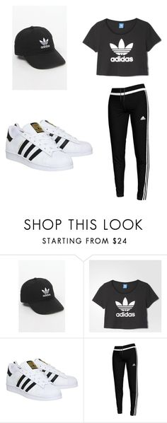 """Untitled #39"" by laihannah on Polyvore featuring adidas"