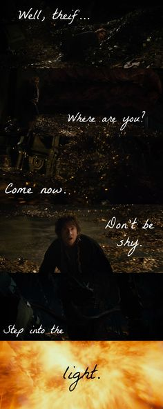 SMAUG TALKED!!!!!!!! I REPEAT: SMAUG TALKED!!!!!!! WE HAVE HEARD HIS EPICLY CREEPY VOICE! *dies*