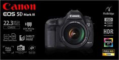 Canon EOS 5D Mark III with EF 24-105L IS USM Rp.36.145.000.- | FREE Battery LP-E6 + Backpack Berlaku s/d 11 Agustus 2013 (Garansi PT.Datascrip)