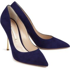 Nicholas Kirkwood Suede Pumps found on Polyvore