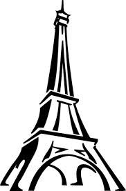 eiffel tower drawing outline - Google Search