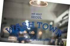 Logo WASHTOWN Seoul Laundromat Cafe Coffee & Laundry