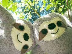 Rinny Hugs Stuffy ThreeToed Sloth Stuffed Animal by RinnyHugs