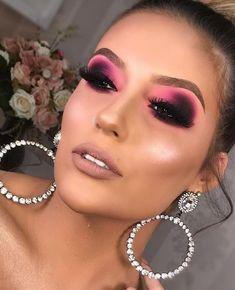 Glam Makeup Look, Makeup Eye Looks, Beautiful Eye Makeup, Unique Makeup, Creative Makeup Looks, Colorful Eye Makeup, Pretty Makeup, Love Makeup, Makeup Inspo