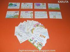 Ya sabemos que a los niños y niñas les encanta los juegos con cartas y con tarjetas. Si añadimos al juego un poco de lectura, estaremo...