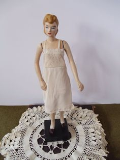 1940s Doll Mannequin Doll with Dress and by UrbanRenewalDesigns