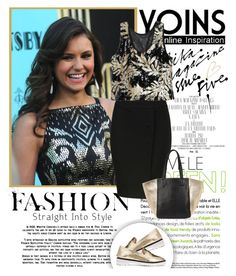 """""""Nina Dobrev ♥ Yoins contest!"""" by tvdsarahmichele ❤ liked on Polyvore featuring Gatsby"""