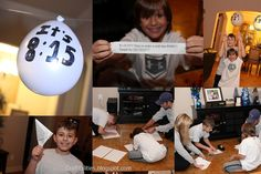 Craftibilities: BEST New Year's Eve EVER! Fun activities for the kids!