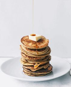 2 ingredient Healthy Pancakes (gluten, grain and dairy free, no added sugar)....lvegetarian