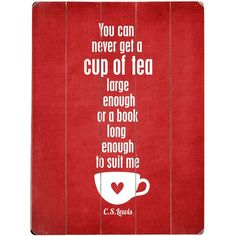 For The Love of Books & Tea - Sign.