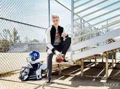 Lucky Blue Smith: The 17-Year-Old Platinum Blonde Mormon Taking Male Modeling By Storm-click for story