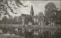 1960 – Breda Prinsenkade. St. Barbarakerk.