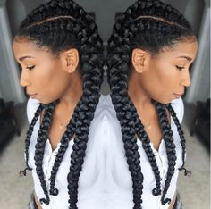 How To Cornrow Braid For Beginners shows you step by step simple instructions for how to create an awesome braided protective style!