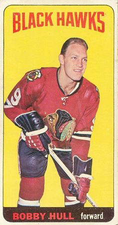 Topps Hockey Card Product Details, Buying Guide, Set Checklist, and Hot Deals on Singles. This is the first Topps Tall Boy set. Hockey Shot, Ice Hockey, Blackhawks Hockey, Chicago Blackhawks, Bobby Hull, Hockey Pictures, Sports Figures, Hockey Cards, Basketball Players