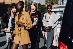 The Best Street Style From Australian Fashion Week Resort Star Fashion, High Fashion, Womens Fashion, Cool Street Fashion, Street Style, Black Goddess, Brown Girl, Black Girls Rock, Australian Fashion