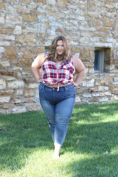 REVIEW: PLUS SIZE JEANS FROM THE NEW MELISSA MCCARTHY LINE AT HSN - Fat Girl Flow