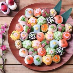 Pin on 食べ物 Pin on 食べ物 Sushi Recipes, Asian Recipes, Cute Food, Yummy Food, Japanese Food Sushi, Exotic Food, Food Platters, Aesthetic Food, Food Design