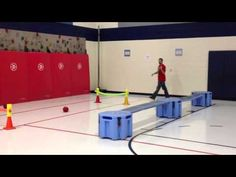 TeachPhysEd: Obstacle Course - YouTube Pe Activities, Activity Games, Outdoor Activities, Parkour, Elementary Pe, Pe Class, Pe Ideas, Gym Games, Kindergarten Games