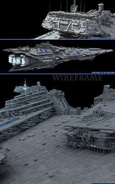 Star Wars Spaceships, Sci Fi Spaceships, Alien Spaceship, Spaceship Design, Battlefleet Gothic, Nave Star Wars, Starfleet Ships, Starship Concept, Star Wars Facts