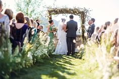 Have a brief small family gathering in the fall to renew wedding vows with immediate family.