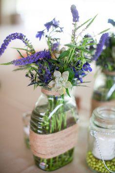 #Rustic Wedding Centerpiece | Miranda Laine Photography | http://www.weddingwire.com/wedding-photos/real-weddings/rustic-spring-texas-ranch-wedding/i/2ef07974421f03e6-adf0ed390b2a4b34/48863fcdcc848215