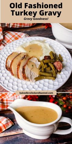 Make your Holiday meal complete with this delicious gravy you will want to pour over everything. This is a simple but rich gravy made from the the turkey drippings. This is just like grandma used to make ..so good but so easy. #turkeygravy, #thanksgivinggravy, #simpleturkeygravy Thanksgiving Gravy, Thanksgiving Recipes, Holiday Recipes, Thanksgiving Table, Turkey Recipes, Meat Recipes, Captain America Birthday Cake, Chicken Broth Can, Turkey Gravy