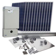 Grape Solar GS-2760-KIT Residential 2,760 Watt Grid-Tied Solar Power System Kit $9,498.99