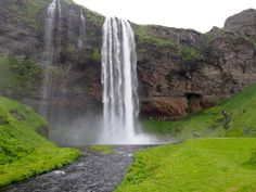 Seljandsfoss in southern Iceland - part of a week-long itinerary in Iceland