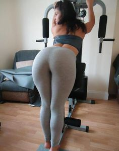 Hot Latin Chica Girl in Yoga Pants