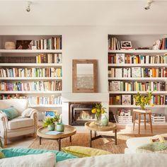 ¡Haz hueco a los libros! 10 librerías para toda la casa