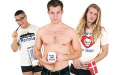 These Men Are Stripping Down and 'Berning Up' for Your Political Vote