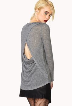 Show Out Draped Back Top | FOREVER21 - 2000063625