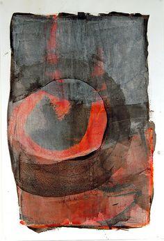Residual Time | cold wax - Karen Darling