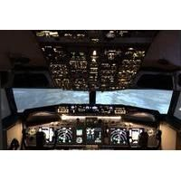 £59 Was £89 for a one-hour Boeing 737 flight simulator experience with Flightdeck Simulator, Beighton