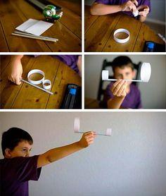 ArredissimA Young propone un metodo diverso per costruire gli aeroplanini di carta.