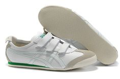 http://asicsoutlets.us/ Onitsuka Tiger Mexico 66 Baja White Green_asicsoutlets.us $70