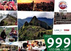 Vive la magia del Perú desde 999 USD | Agencia de Viajes en Xalapa Excel Tours