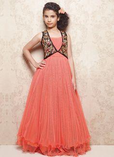 bddd1d411113 23 Best Gown Style Kurti Designs images