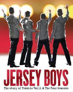 Felipe, o pequeno viajante: Jersey Boys - a história de Frankie Valli & os Four Seasons num musical espetacular da Broadway, em New York City
