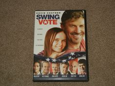 Swing Vote (DVD, Movie, 2009, Comedy, Dual-Layer Format, PG-13)