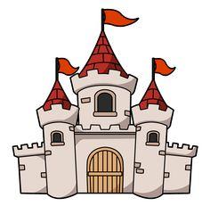 Clipart: this cartoon castle clip art Castle Drawing, Castle Painting, Castle Cartoon, Castle Illustration, Small Castles, Clip Art Pictures, Château Fort, Fairytale Castle, Knight