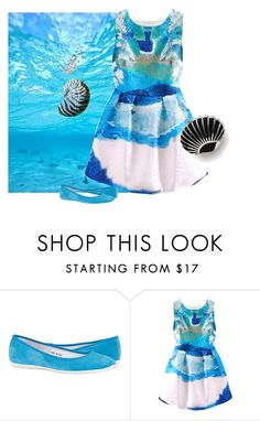 """""""Reef Life 4/5 - Molluscs"""" by mellapr ❤ liked on Polyvore featuring Vintage Styler"""