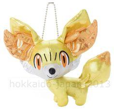 New Pokemon Fokko Fennekin Plush Pin Badges Pocket Monsters TAKARA TOMY JAPAN FS #TAKARATOMY
